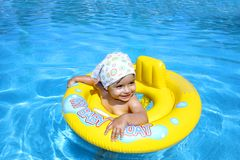 бассеин младенца Стоковое Фото