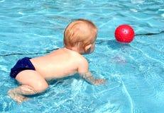 бассеин младенца Стоковое фото RF