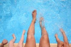 бассеин ног Стоковые Изображения