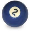 бассеин номера 2 шариков Стоковые Изображения RF