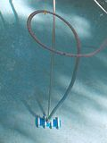 бассеин оборудования чистки Стоковое фото RF