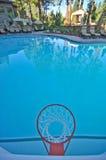 бассеин обруча баскетбола Стоковое фото RF