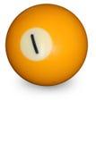 бассеин одно шарика Стоковое фото RF
