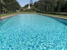 бассеин сада роскошный приватный Стоковые Изображения RF