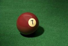 бассеин 7 шариков Стоковое Фото