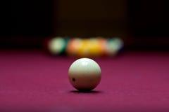 бассеин billard шариков Стоковая Фотография