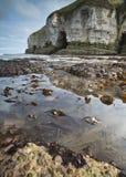 Бассейны и скалы утеса Стоковое Изображение RF