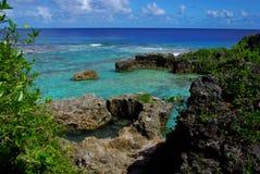 Бассейны Limu, Ниуэ Стоковое Фото