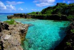 Бассейны Limu, Ниуэ Стоковые Изображения
