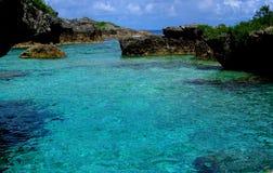 Бассейны Limu, Ниуэ Стоковая Фотография