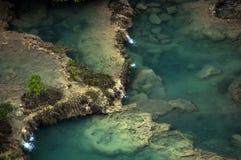 Бассейны Semuc Champey, Гватемала Стоковое фото RF