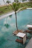 Бассейн гостиницы Стоковое Изображение