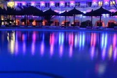 Бассейн гостиницы Стоковое фото RF