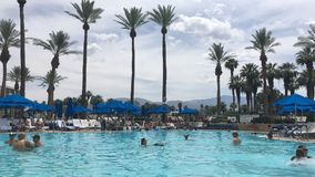 Бассейн каникул Palm Desert Стоковое Фото