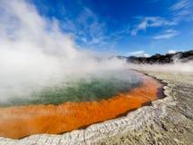 Бассейн кислоты Новой Зеландии Стоковое фото RF