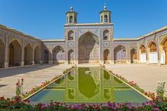 Бассейн мечети al-Mulk Nasir Стоковые Фотографии RF