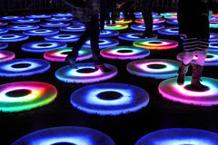 Бассейн на ярком Сиднее стоковая фотография