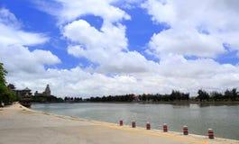 Бассейн дракона школы jimei в amoy городе Стоковое фото RF