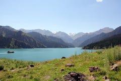 Бассейн рая горы Tianshan Стоковое Изображение RF