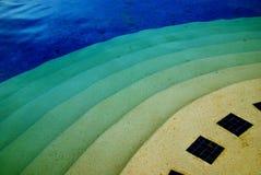 Бассейн син Стоковая Фотография