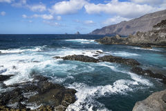 Бассейн El Golfo Стоковая Фотография