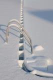 Бассейн Snowy Стоковое фото RF