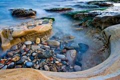Бассейн Yehliu приливный Стоковые Изображения