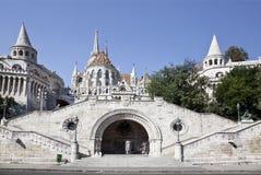 Бастион рыболова в Будапешт Стоковое Изображение