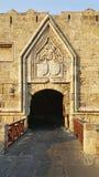 Бастион и строб замка Родоса стоковое изображение rf