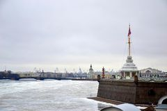 Бастион Питера и крепости Паыля Стоковая Фотография