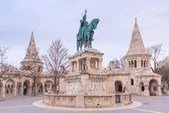 Бастион рыболова Будапешта, Венгрии стоковое изображение