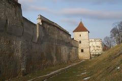 Бастион Bastionul Postavarilor Drapers и обороны возвышается, Brasov, Румыния Стоковое Фото