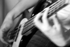 бас в стиле фанк Стоковые Фотографии RF