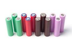 Батареи иона 18650 лития Стоковые Изображения RF