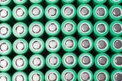 Батареи иона 18650 лития Стоковое Изображение