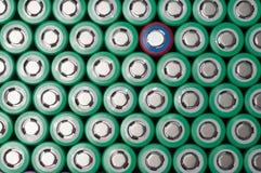 Батареи иона 18650 лития Стоковые Фотографии RF