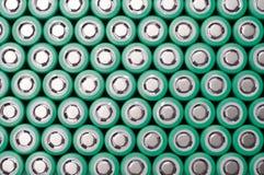 Батареи иона 18650 лития Стоковое Фото