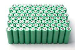 Батареи иона 18650 лития Стоковые Фото
