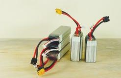 Батареи нового полимера лития перезаряжаемые Стоковая Фотография