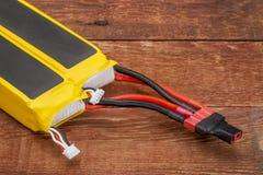 Батареи полимера лития Стоковое фото RF