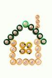 батареи расквартировывают сделанное немногую Стоковая Фотография RF