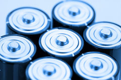 батареи щелочных аккумуляторов Стоковое Изображение RF