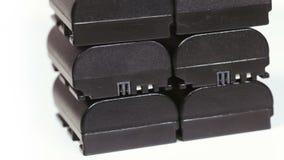 Батареи для камеры видеоматериал