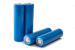 Батареи 18650 Стоковая Фотография RF