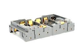 Батареи AA переходника Стоковое фото RF