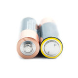 2 батареи AA Стоковая Фотография