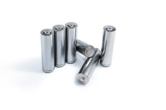 Батареи AA стоковое изображение