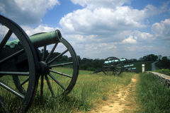 Батарея артиллерии Наполеона стоковые фото
