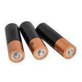 Батарея изолированная на белой предпосылке Стоковые Фотографии RF