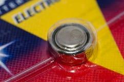 Батарея круглой клетки Стоковые Изображения